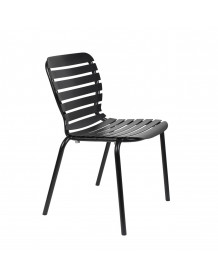 VONDEL - black garden chair