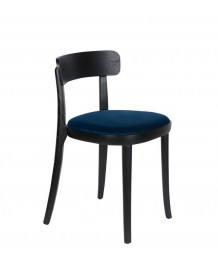 BRANDON - Chaise de repas bleu