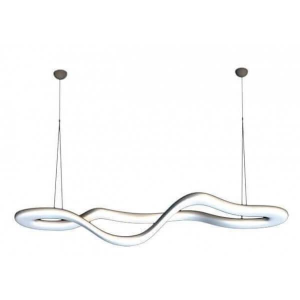 lustre knot slide tr s grande suspension pour grands espaces. Black Bedroom Furniture Sets. Home Design Ideas