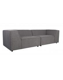 King - Dark grey sofa