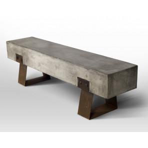 BETON - Concrete-iron bench