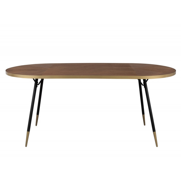 DENISE XL - Oval Dining Table art deco