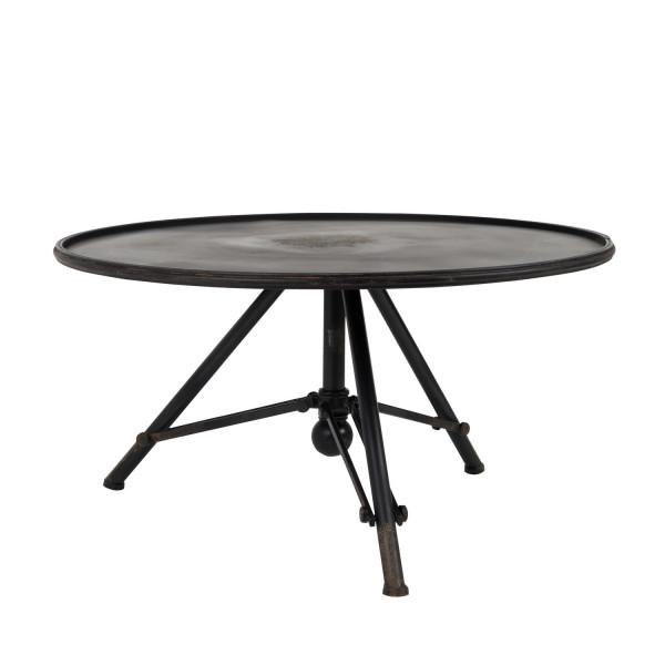 Table basse brok acier dutchbone