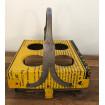 Plateau-support pour verres industriel jaune