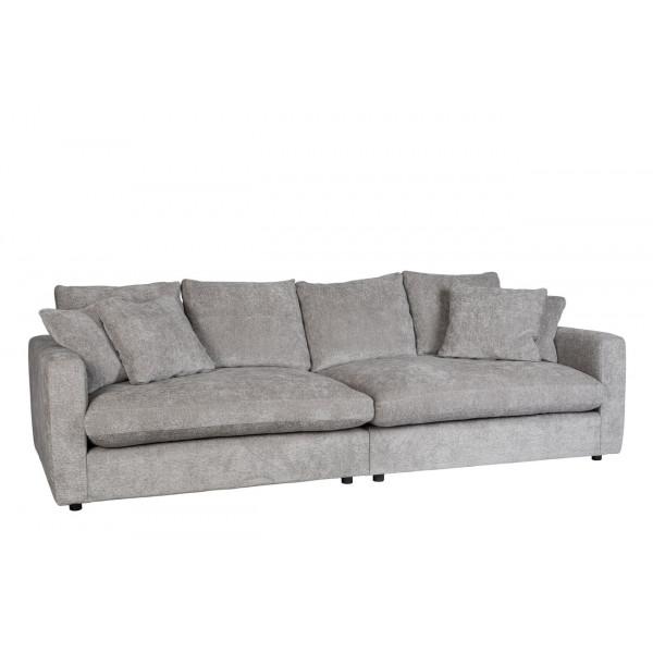 SENSE - Canape en tissu gris clair zuiver