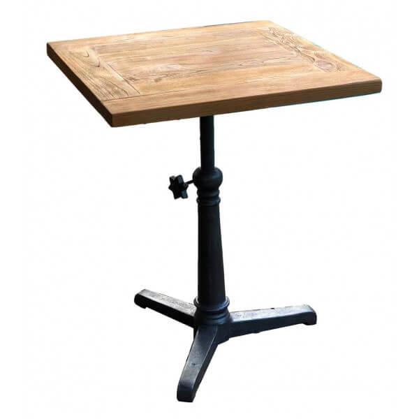 Table bistrot réglable 60