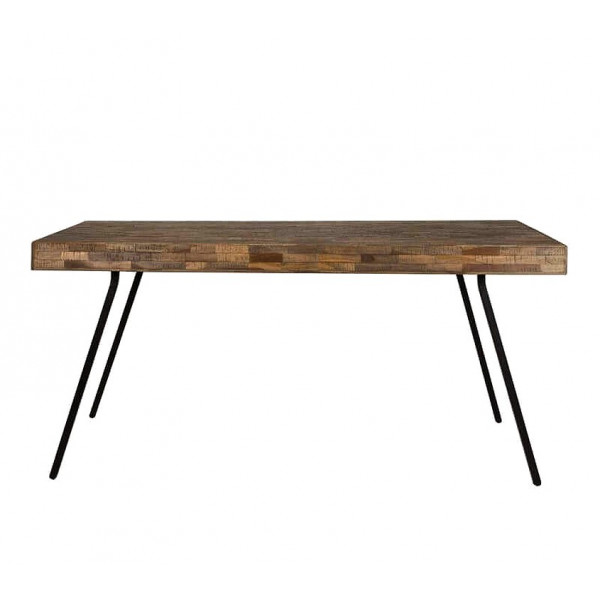 Table bois loft