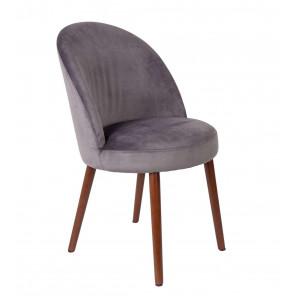 Chaise de repas Barbara-gris