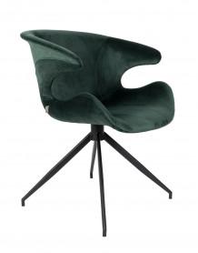 fauteuil repas design zuiver mia verte