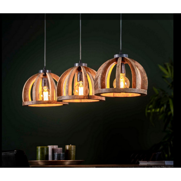 Dome Pendant Lamp with 3 shades