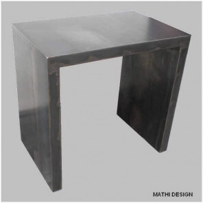 BRUT - Small steel desk