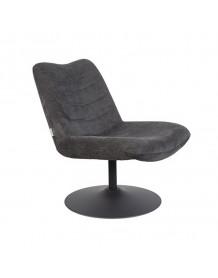 BUBBA - Zuiver Lounge chair dark gray