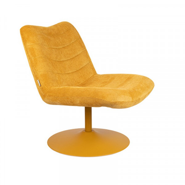 BUBBA - Fauteuil lounge Zuiver Jaune