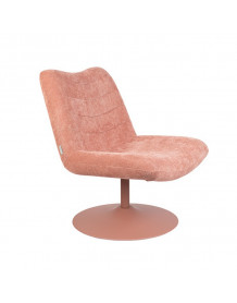BUBBA - Fauteuil lounge Zuiver Rose