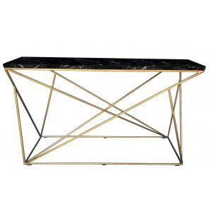 Black Marble Side table Origami