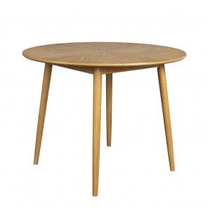 FAB - 120 wood round dining table
