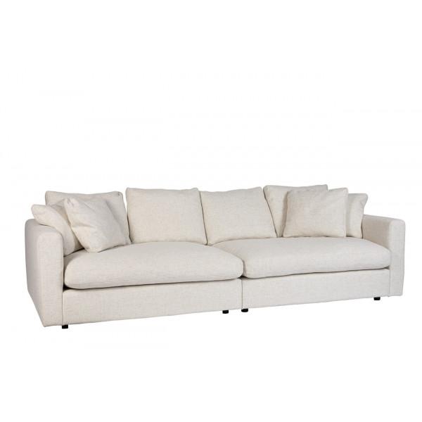 SENSE - Cream sofa by Zuiver
