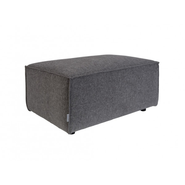 King Pouf hocker Gris Fonce zuiver
