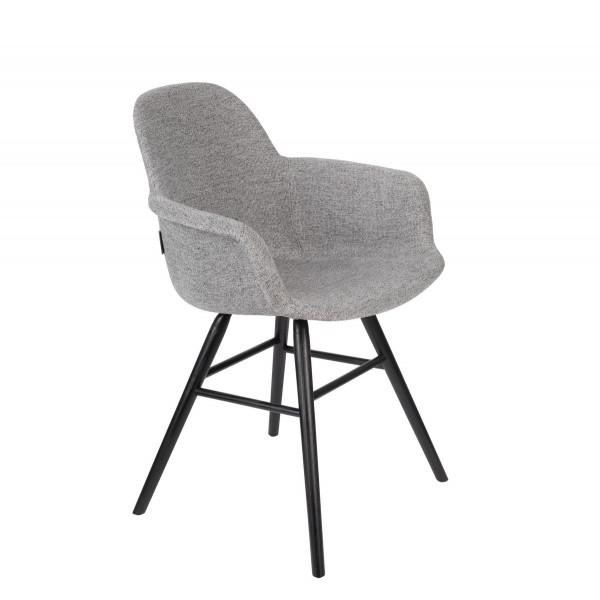 ALBERT KUIP SOFT - Grey design armchair