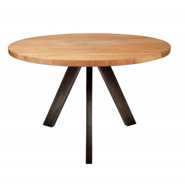 LIZA - Table ronde en bois 120