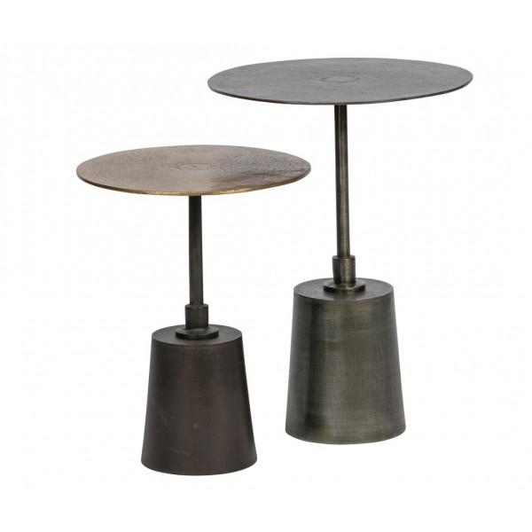 Set de 2 tables d'appoint originales