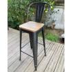 chaise bar industrielle