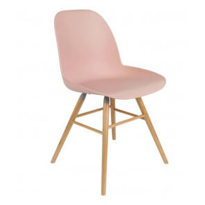 Pink Dining chair Zuiver