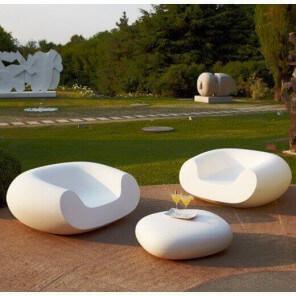 CHUBBY LOW - Garden Lounge set by Slide