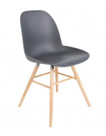 Chaise design Zuiver gris
