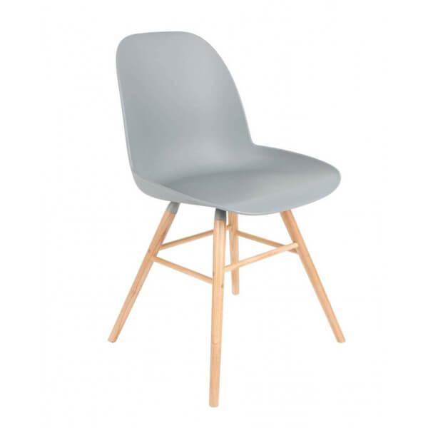 Chaise design Zuiver bleu