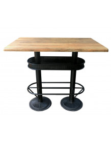 Industrial style bar table Oakland