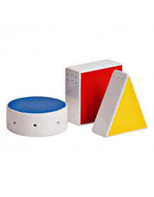Set de table sel&poivre Mondrian