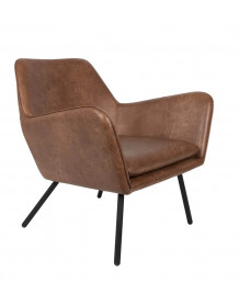 Vintage Brown Alabama lounge chair