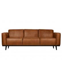 STATEMENT - 3 places Cognac sofa