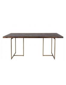 Table repas bois antique