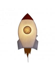 SOFT LIGHT - Applique fusée fond blanc