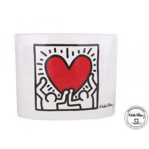 Vase Heart Keith haring