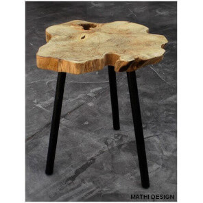Low scandinavian table by Zuiver
