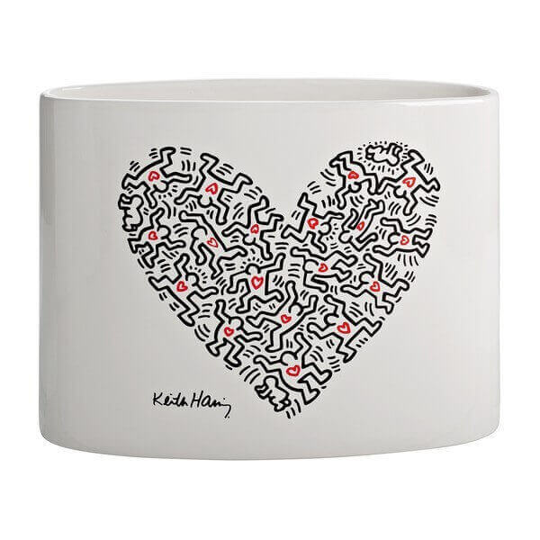 Hearth Vase By Keith Haring