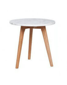 Marble danish table