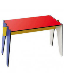 Table basse d'appoint design Mondrian