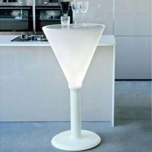 Table haute Jet set 1761