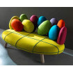Sofa Jelly 3 seats yellow