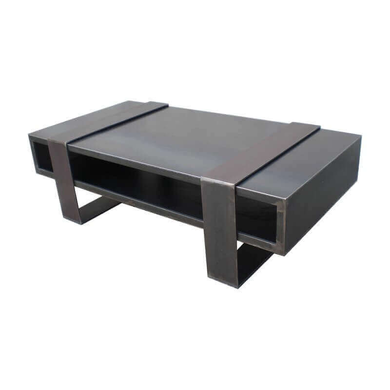 Amazing Tables De Salon Design #14: Table Basse Metallica Duosteel