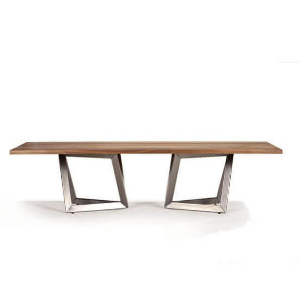 Origami dining table Inox