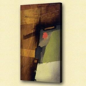 Abstract oil painting Burglar