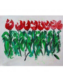 Painting Red Tulips