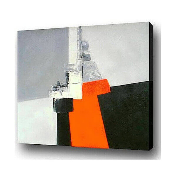 Abstract oil painting Cargo