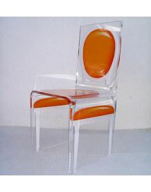 Chaise acrylique Aitali