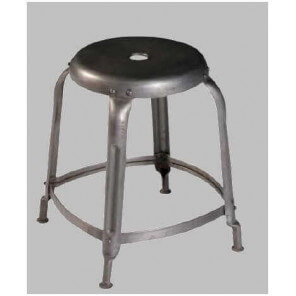 FACTORY - Industrial 45 round stool